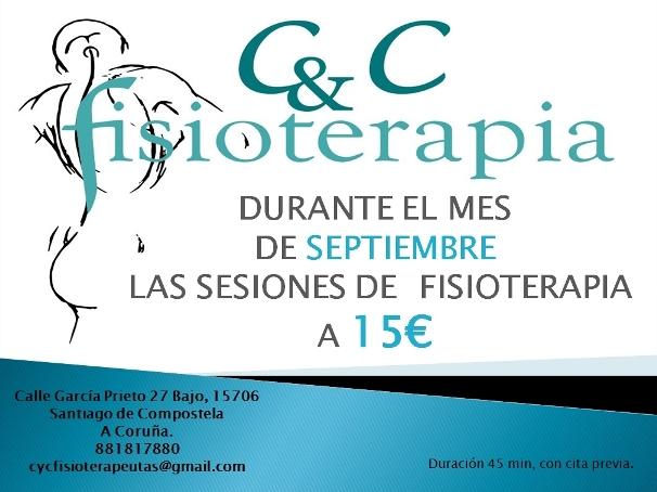 Oferta Fisioterapia septiembre 2014