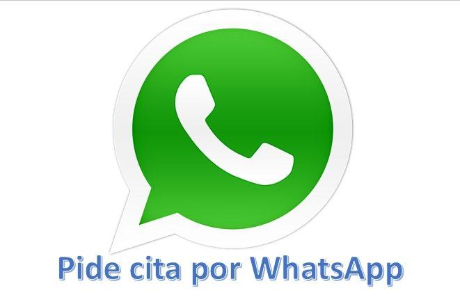 Pedir cita por Whatsapp en CyC Fisioterapia