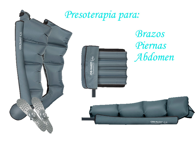 Presoterapia para Brazos, Piernas y Abdomen en Santiago de Compostela