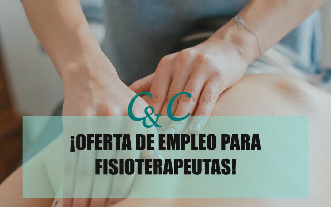 Oferta de empleo para fisioterapeutas
